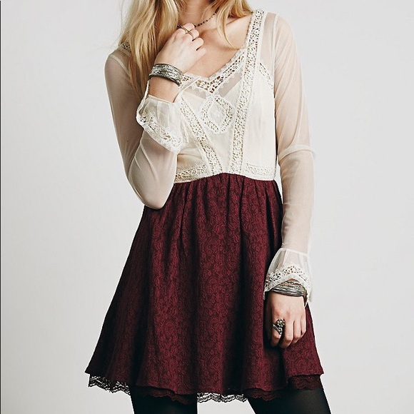 Free People Dresses & Skirts - Free People Victorian Mini